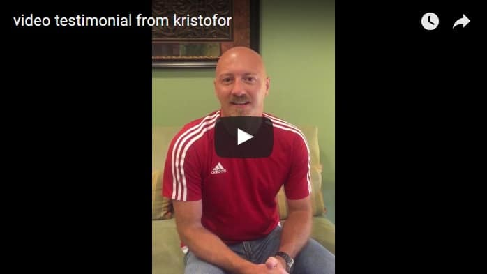 Video Testimonial From Kristofor   Modern Family Dentistry