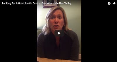Video Testimonials Modern Family Dentistry Julie - Video Testimonial From Julie